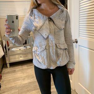 Marc Jacobs sweater zip up jacket